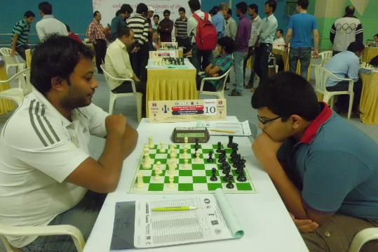 GM Arun Prasad and Akash PC Iyer