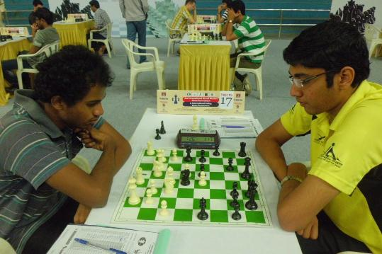 Kunal M secured his IM Norm and defeated International Master Swayams in the tenth round