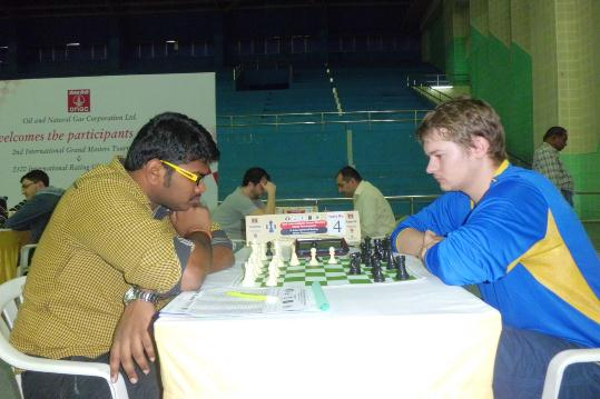 Lalith Babu outwitted Russian Grandmaster Vasily Papin
