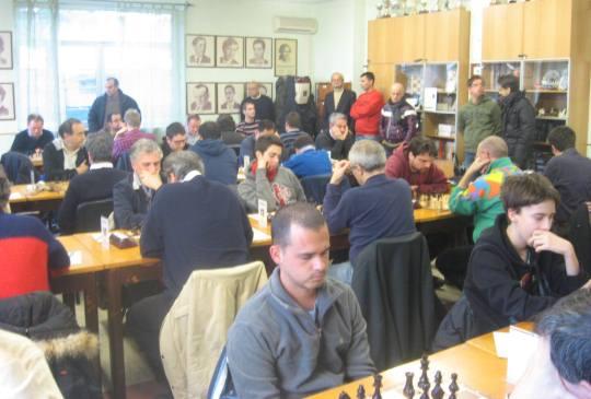 Memorial Edoardo Crespi - tournament hall