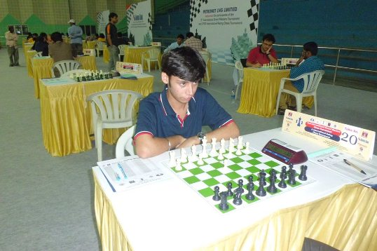Prince Bajaj secured his maiden International Master Norm