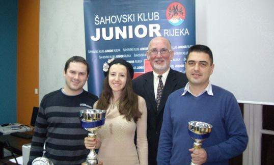 Darko Doric, Iva Videnova, Goran Mufic and Boris Golubovic