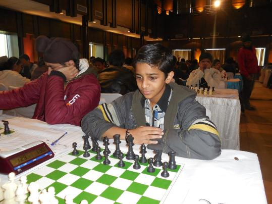 Abhishek A defeated International Master Vishal Sareen in second round