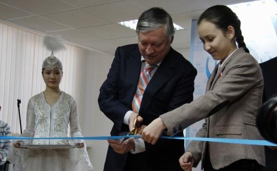 Anatoly Karpov opened Zhansaya Abdumalik Chess Academy