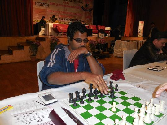 N Lokesh, who stunned the fourth seed