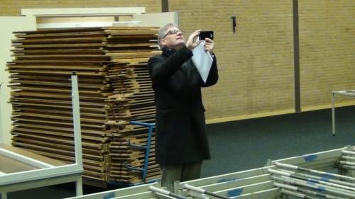 Tournament Director Jeroen van den Berg sharing a picture
