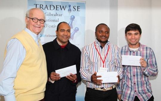 Brian Callaghan, Alexander Pena Riasco, John Oyeyemi Fawole, Pedro Ramon Reyes Martinez