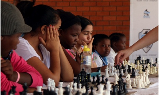 Promotional Tour of Women Chess in Botswana