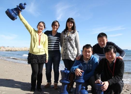 Tan Zhongyi,  Xue Zhao, Guo Qi, Li Chao, Wei Li and Xu Jun