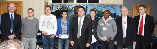 The Chief Minister of Gibraltar Fabian Picardo presented the prizes to the winners of the Blitz