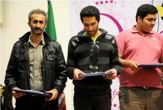 Top players in B group - Farhad Samsam, Reza Roozbayan, Behtash Salimifard