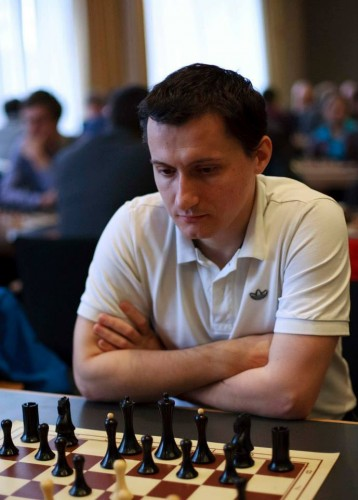 GM Ferenc Berkes (Hungary) shared second place in a 4-way tie