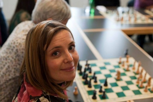 The tournament director – the charming Darja Kaps