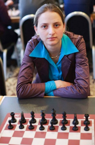 WGM Adriana Nikolova (Bulgaria) was the best placed women in the open tournament