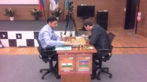 Anand - Mamedyarov in round 3