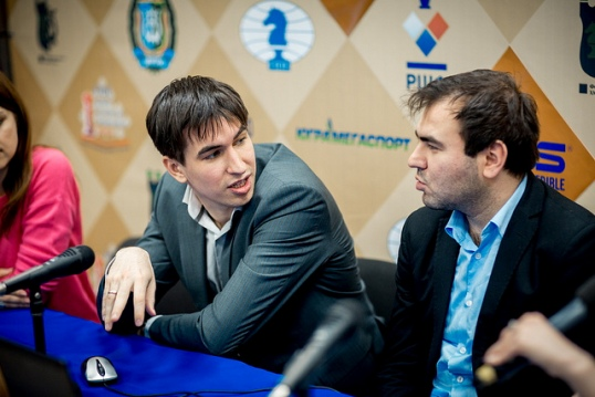Andreikin - Mamedyarov