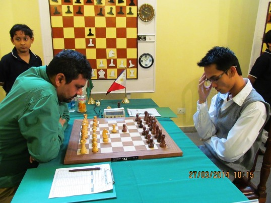 Oliver Babosa of Philippines drew with Ziaur Rahman of Bangladesh in the final round to win the title