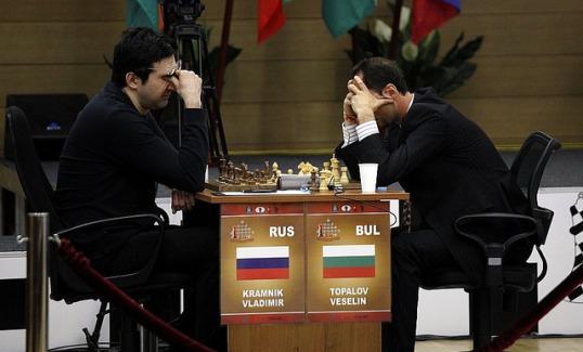Topalov - Kramnik