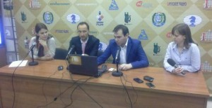 Topalov and Mamedyarov