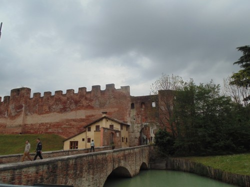 Medieval walls of Castelfranco Veneto