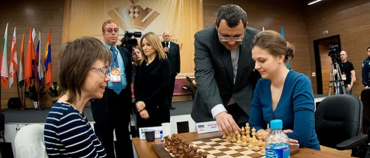 FIDE Women World Blitz Opening