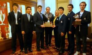 Webster chess team