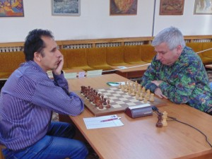 The last round game Georgiev - Drenchev finished in favor of the champion