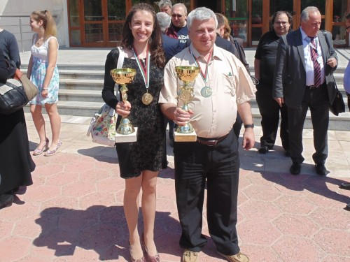 Videnova and Georgiev are 2014 Bulgarian champions