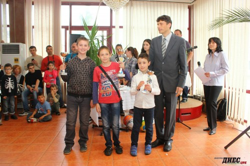 Stefan Yanev is the best player from Tarnovo