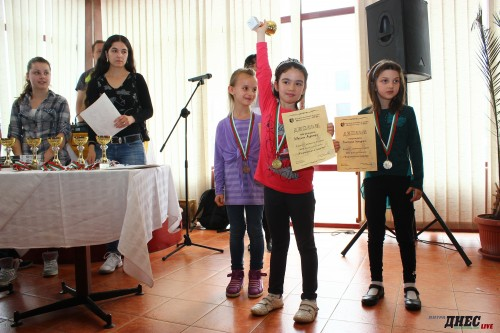 Ivanina Andonova is first under 8