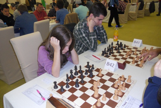 The youngest participants of the tournament - Ana Sakotic, 12 years old