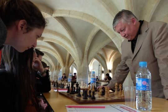 Anatoly Karpov simul in Normandy 4