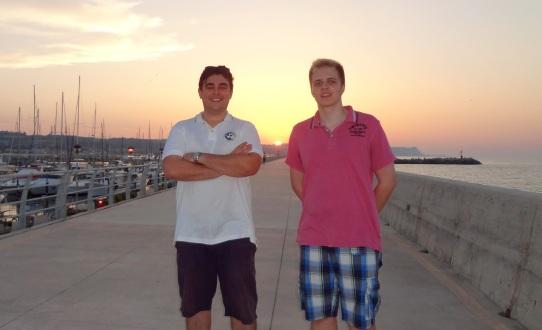 Dario Pedini and GM Richard Rapport