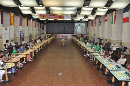 Day 2  room all set for double simul