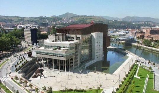 Euskalduna Palace in Bilbao