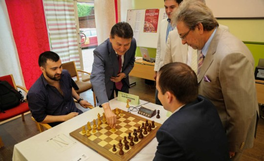 FIDE President Opens the Baltic Zonal Chess Tournament in Liepaja