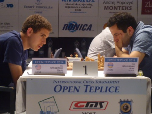 The game Naroditsky - Melkumyan finished in favor of the tournament winner