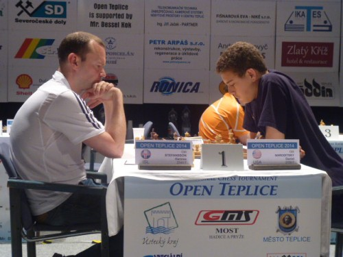 Naroditsky defeated Stefansson in the fifth round of the event. His performance was 2701