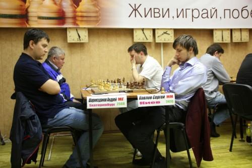 GM Andrey Shariyazdanov - IM Sergey Pavlov