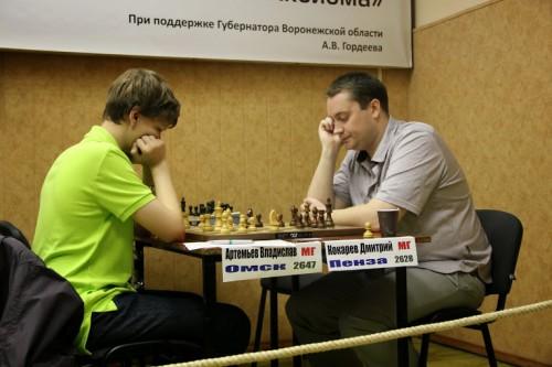 GM Vladislav Artemiev - GM Dmitry Kokarev
