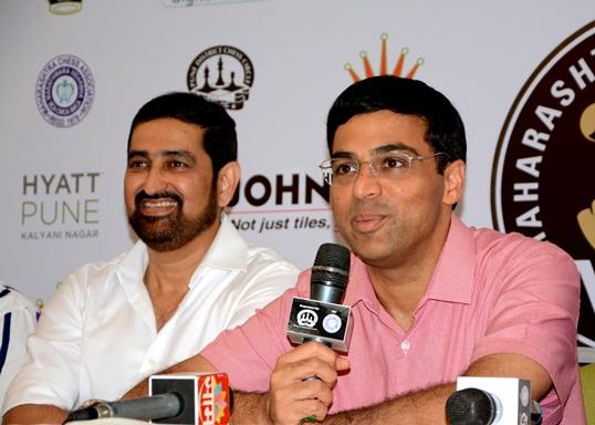 Johnson Tiles Maharashtra Chess League 4 Anand