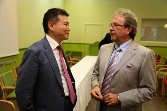 Kirsan Iljumzhinov Peteris Smidre