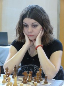 The best score was made by the French champion for women WGM Nino Maisuradze (Photo: Dominique Dervieux)
