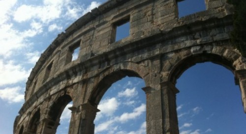 The Pula Arena - an amphitheater with more than 2000 years history