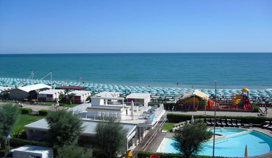 Sassonia, the Fano beach