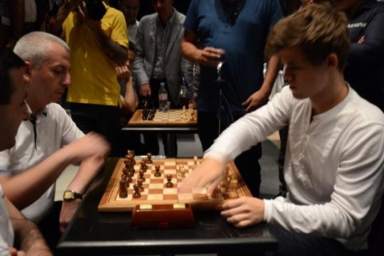 World Champion Magnus Carlsen visited Armenia