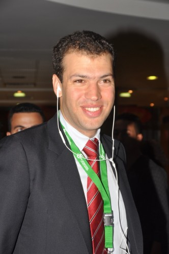 Tournament director Youssef Iraqui