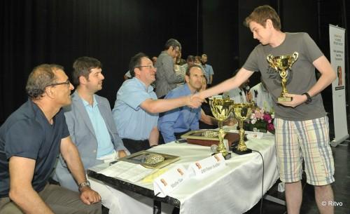 Ori Kobo, the Israeli champion under 18, took 3rd place