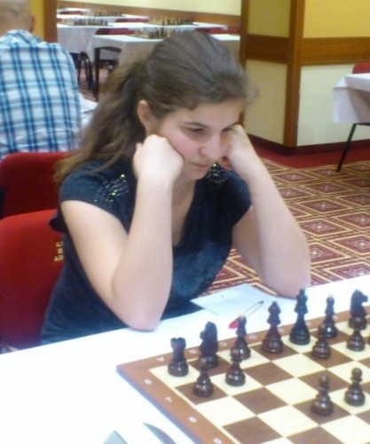 Patricija Vujinovic took the first female prize