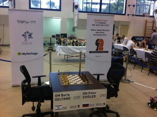 The Gelfand - Svidler Arena seems completely prepared